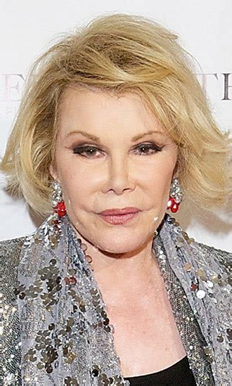 joan rivers hairstyle 2014 joan rivers hollywood life