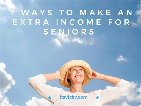 7 Ways To Prepare For by 7 Ways To Make An Income For Seniors Itsvicky