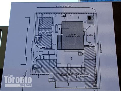 building site plan 2 apartment buildings proposed for church site www thetorontoblog