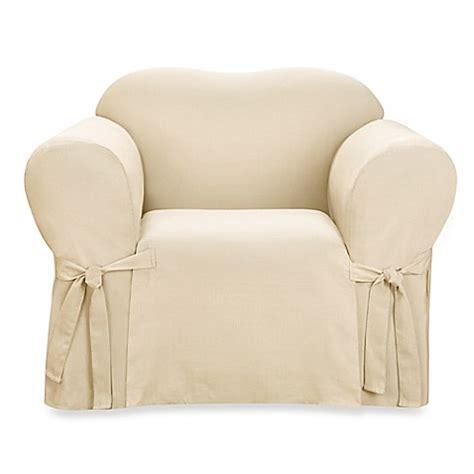 sure fit logan slipcover sure fit 174 logan 1 piece chair slipcover bed bath beyond