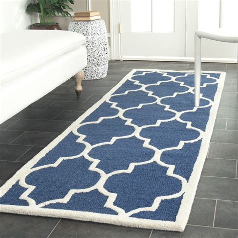 Stores That Sell Area Rugs by Safavieh Cambridge Navy Ivory Wool Area Rug Cam134g Ebay