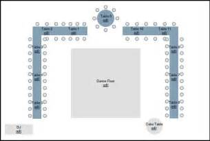 Floor Plan Wedding Reception which table layout round or long weddingbee