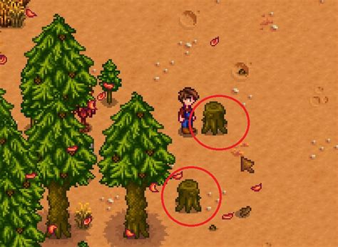 fruit trees stardew valley stardew valley do tree stumps do anything if you don t
