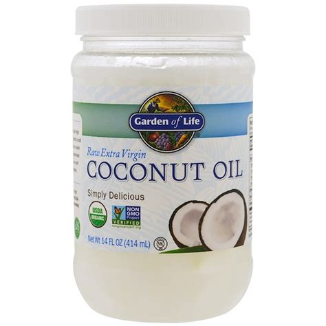 25 life hacks featuring coconut oil 25 life hacks hacks garden of life raw extra virgin coconut oil 14 fl oz