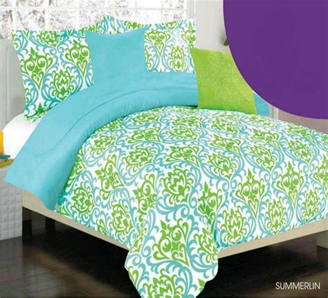 blue and green bedding lime green and blue modern bedroom decorating ideas
