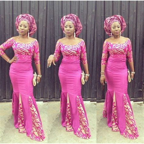 aso ebi lace styles bella naija cord lace styles top beautiful selection