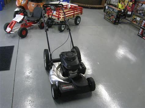 mtd honda engine pro stainless steel deck   propelled lawnmower wesellit waterloo