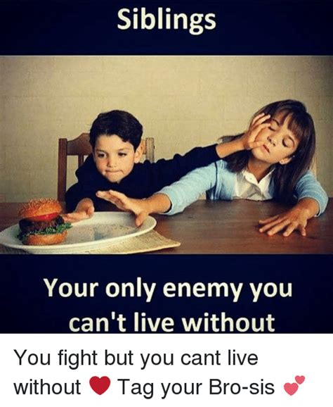 Siblings Fighting Meme - funny sibling memes of 2017 on sizzle sibling rivalry