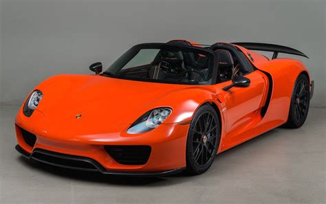 Gallery Continental Orange Porsche 918 Weissach