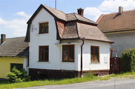 Small Home Images File 218 Jezd U Cerhovic Small House Jpg Wikimedia Commons
