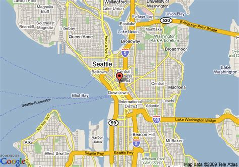 seattle map of hotels sheraton seattle seattle deals see hotel photos
