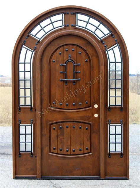 Arch Doors by Rustic Arched Door Pompano