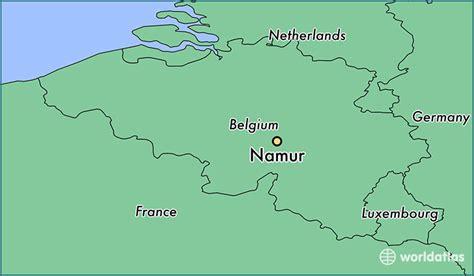 namur map where is namur belgium where is namur belgium located