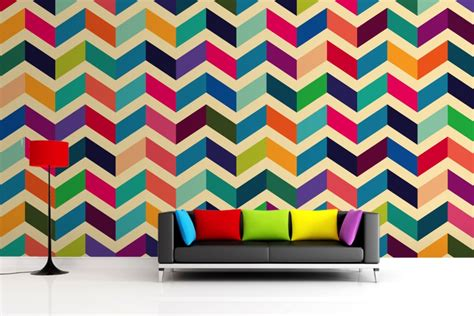 zig zag wall pattern pattern rhea clements designs