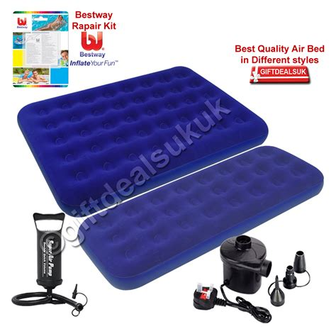 single flocked air bed cing airbed mattress repair kit