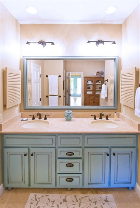 blue bathroom vanity robins egg persian green