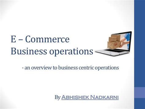 e commerce business e commerce business operations