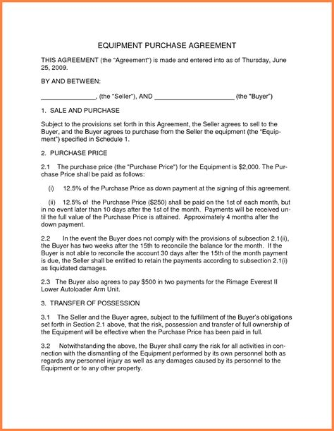 purchase and sale agreement template 13 business sale and purchase agreement template