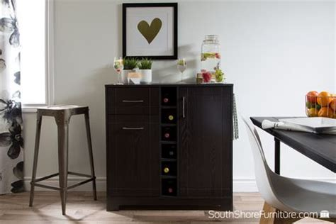 south shore vietti bar cabinet south shore vietti bar cabinet with bottle and glass