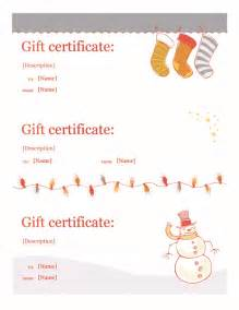 free gift certificate templates for word gift certificate template word free