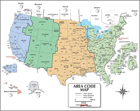 us area code map 2017 usa time zones map