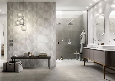Grey And White Bathroom Tile Ideas Bathroom Flooring Ceramic And Porcelain Stoneware Marazzi