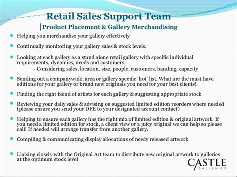 sle business plan retail shop retail sales support team
