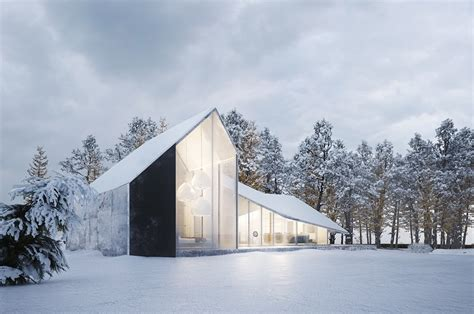 winter house winter house by sergey makhno architects design