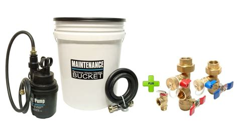 Ez Plumbing Supplies by Tankless Water Heater Flushing Kit With Brass Isolation