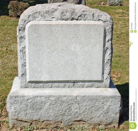 Headstone Stock Photo Image Of Cemetary Memorial Grave 24142882 Grave Marker Template