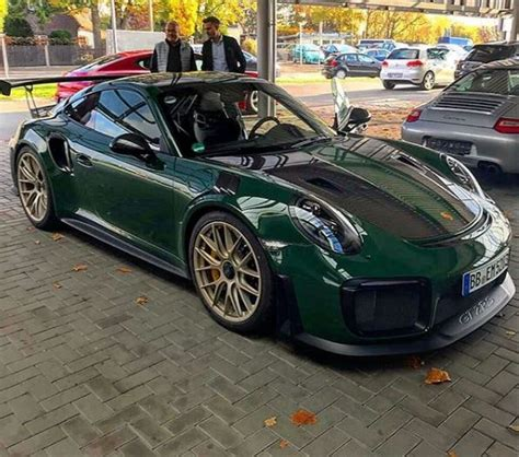 porsche racing green racing green 2018 porsche 911 gt2 rs is dressed