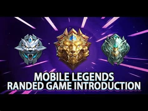 mobile legends rank mobile legends rank introduction