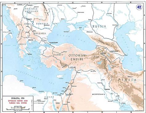 Ottoman Empire Railways In Balkan Anatolia And Arabia Ottoman Empire Balkans