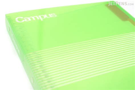 Binder 1 2 3 4 5 26rings B5 Gionshop kokuyo cus slide binder b5 26 rings green jetpens
