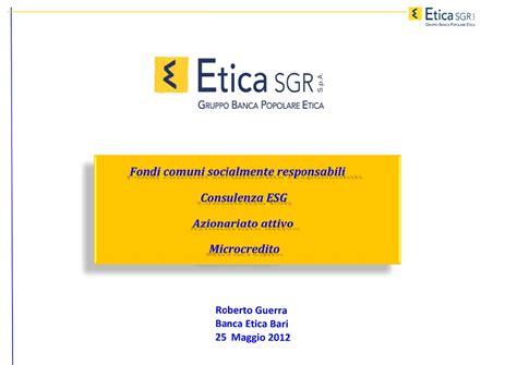 etica microcredito fondi etici e microcredito l esperienza di popolare
