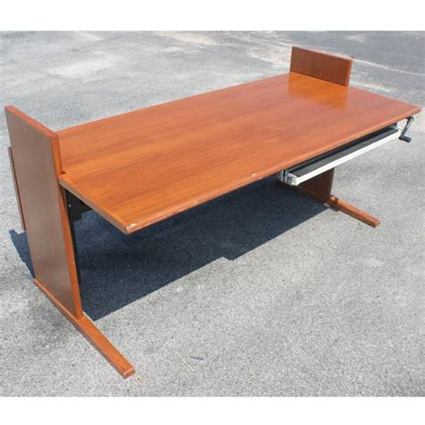 Desktop Drafting Table Metro Retro Furniture 5ft Vintage Computer Drafting Table Cherry Desk