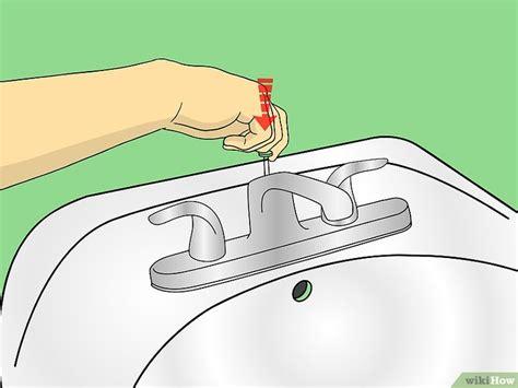 sostituire un rubinetto 4 modi per sostituire un rubinetto bagno wikihow