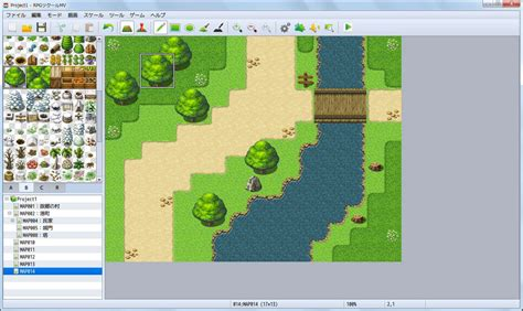 building map maker here s the look at rpg maker mv now coming in this winter niche gamer