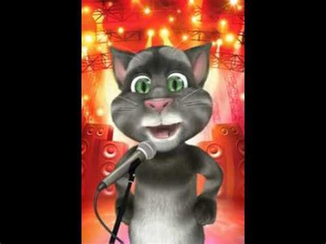 Talking Tomcat Bisa Bunyi Dan Nyanyi seekor kucing menyanyi singing cat quot animasi quot doovi