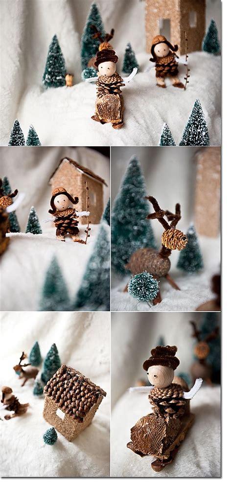 Basteln Mit Naturmaterialien Weihnachten by Mit Naturmaterialien Basteln Wald Weihnachten
