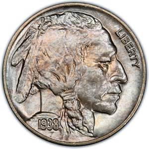1938 buffalo nickel values and prices past sales