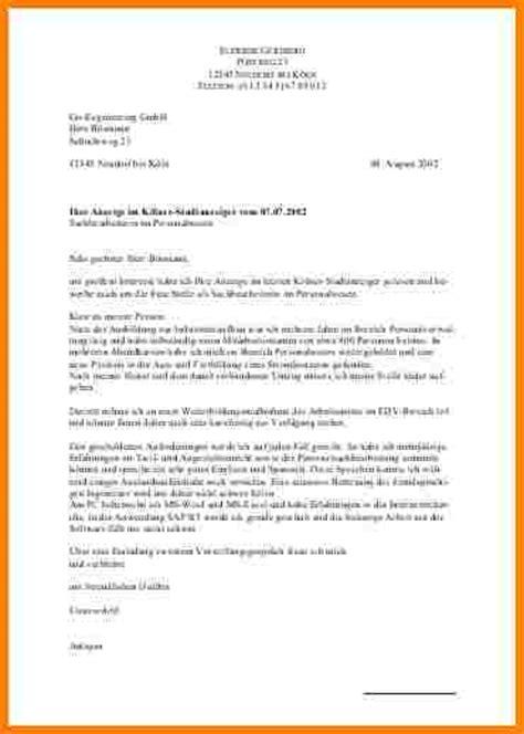 Bewerbung Uni 7 Uni Bewerbung Muster Resignation Format