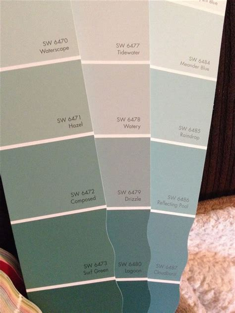 watery paint color possible dining room colors sherwin williams hazel