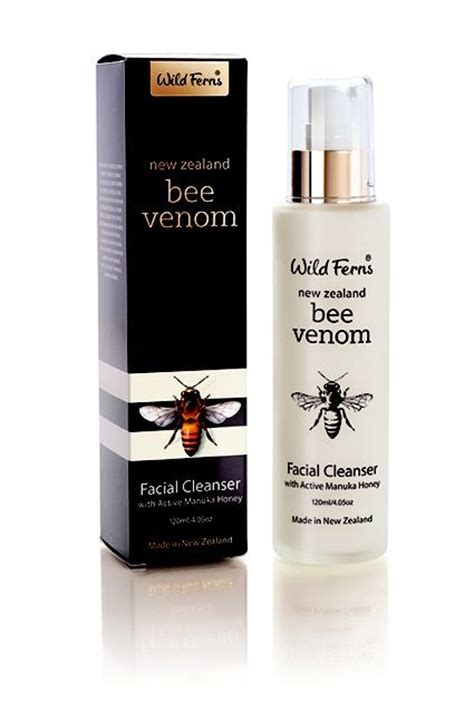 Skinnova Acne With Bee Venom Ferns New Zealand Bee Venom Cleanser