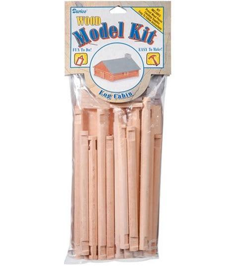 Log Cabin Craft Kits by Darice Wood Model Kit Log Cabin Jo