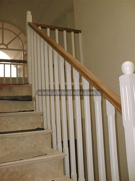 wood banister railing stair railings balusters handrails