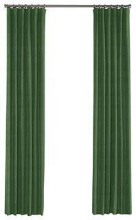 green linen curtains dark green linen curtain single panel ring top