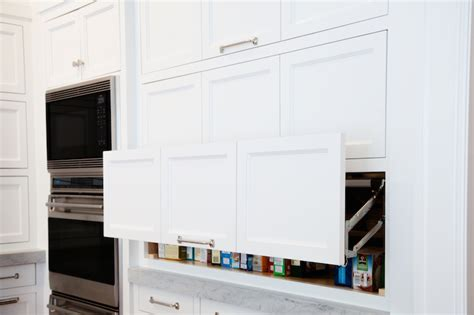 Pull Up Kitchen Cabinets | pull up cabinets transitional kitchen benjamin