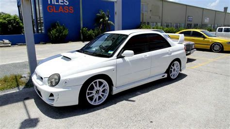 subaru wrx 18 inch wheels 2002 subaru wrx custom rims 18 inch white advanti samurai