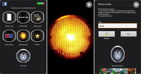 best flashlight for android 9 spooktacular android apps for 2012